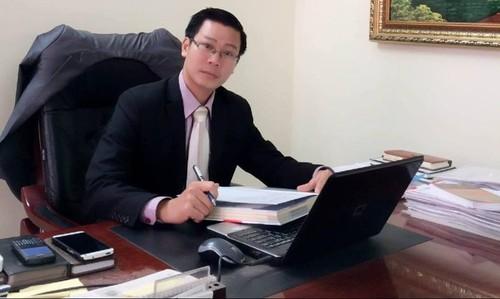 Luật sư Nguyễn Văn Tuấn – Giám Đốc Công ty Luật TGS –  Đoàn Luật sư thành phố Hà Nội.