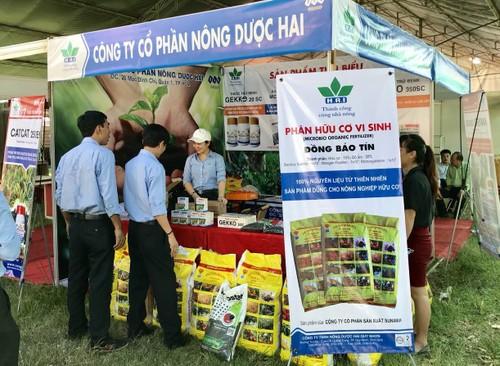 Gian hàng của Công ty CP Nông dược HAI tại Hội chợ sản phẩm nông lâm thủy sản vùng duyên hải Nam Trung Bộ 2018