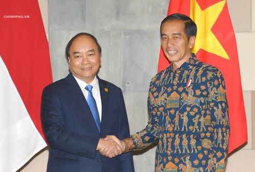 Thủ tướng Nguyễn Xuân Phúc và Tổng thống Indonesia Joko Widodo