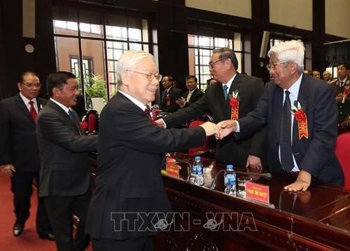 Tổng Bí thư Nguyễn Phú Trọng dự Lễ kỷ niệm 70 năm Ngày truyền thống ngành Kiểm tra của Đảng