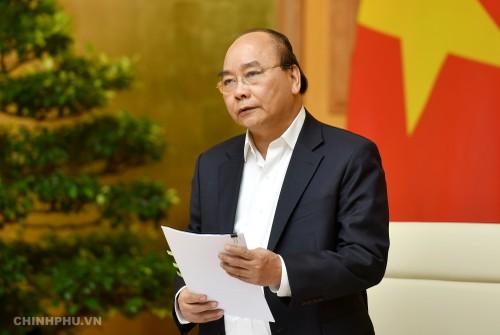 Thủ tướng Nguyễn Xuân Phúc lưu ý, văn kiện phải bảo đảm tính khoa học, phục vụ lãnh đạo đất nước trong thời kỳ cách mạng công nghiệp 4.0.