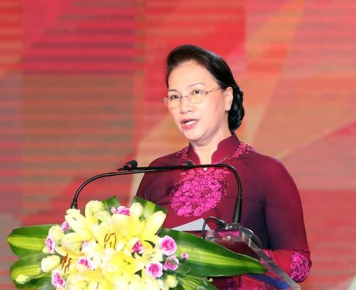 Chủ tịch Quốc hội Nguyễn Thị Kim Ngân cho rằng, việc nâng cao hiệu quả công tác xây dựng, hoàn thiện hệ thống pháp luật, gắn với tổ chức thi hành pháp luật là một đòi hỏi bức thiết