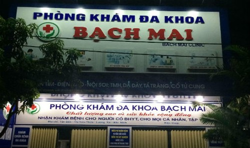 Bắc Ninh: Nhiều sai phạm tại Phòng khám đa khoa Bạch Mai