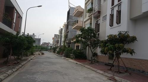 Khu tái định cư phường Vĩnh Niệm