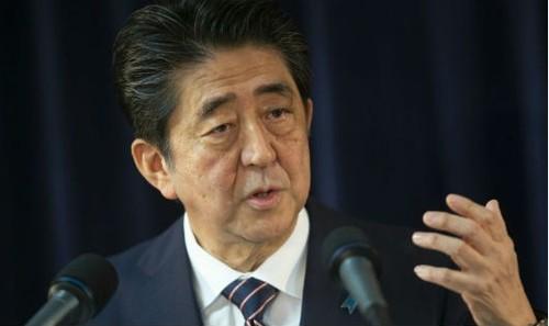 Thủ tướng Nhật Bản Shinzo Abe.