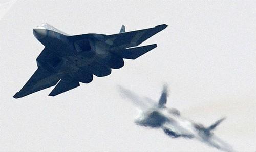 Máy bay Su-57 của Nga.