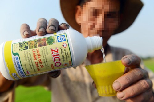 Lạm dụng thuốc bảo vệ thực vật và phân bón vô cơ trong sản xuất nông nghiệp hiện nay là đáng báo động (Ảnh minh họa)