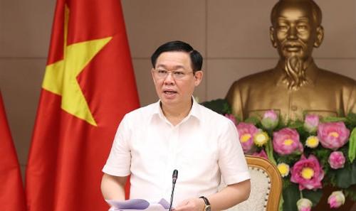 Phó Thủ tướng Vương Đình Huệ phát biểu chỉ đạo tại cuộc họp