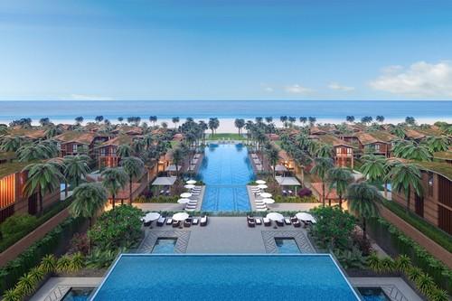 Vanesea Field Luxury Resort 100% hướng biển