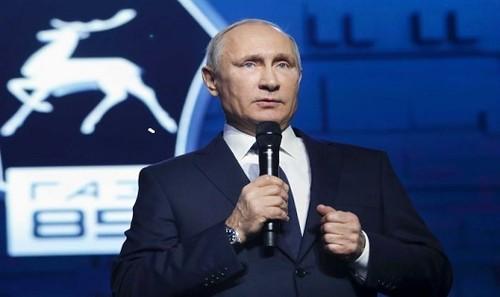 Tổng thống Nga Putin.