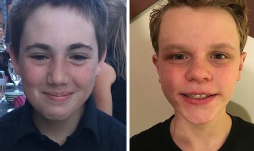 Grant Seaver (trái) và Ryan Ainsworth