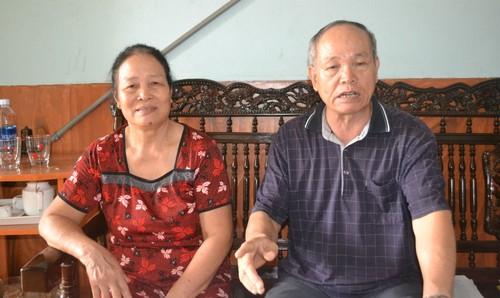 Vợ chồng ông Hùng mong chờ vào phán quyết công tâm của  TAND tỉnh Gia Lai tới đây