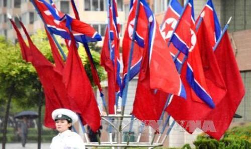Triều Tiên dọa sẽ đáp trả nếu Mỹ tiếp tục theo đuổi nghị quyết trừng phạt. Ảnh: Kyodo/TTXVN