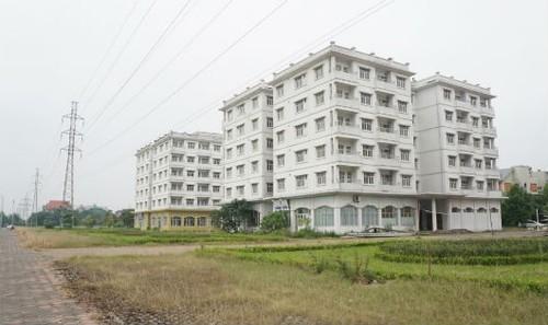 Khu TĐC Sài Đồng bị bỏ hoang nhiều năm qua