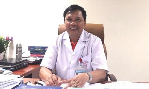 Phó Giáo sư, Tiến sĩ Trần Danh Cường - Phó Giám đốc bệnh viện Phụ sản Trung ương.