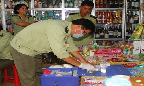 Hà Nội đã tăng cường công tác kiểm tra, xử lý các vi phạm về an toàn thực phẩm