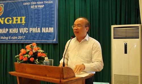 Thứ trưởng Phan Chí Hiếu phát biểu chỉ đạo Hội nghị.