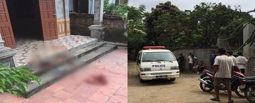 Vụ con chém cha tử vong ở Phú Thọ