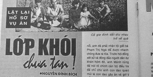Không có Pháp luật Việt Nam, bao giờ chúng tôi mới được minh oan?