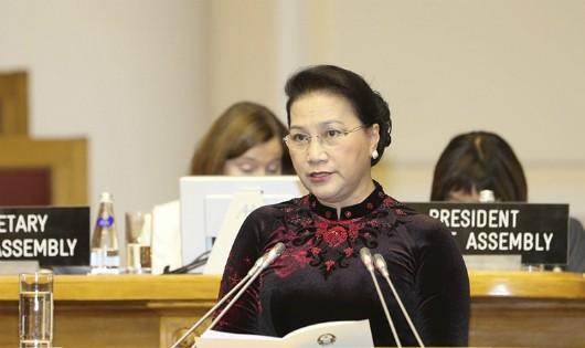 Chủ tịch Quốc hội Nguyễn Thị Kim Ngân sẽ tham dự IPU 138 tại Thụy Sỹ