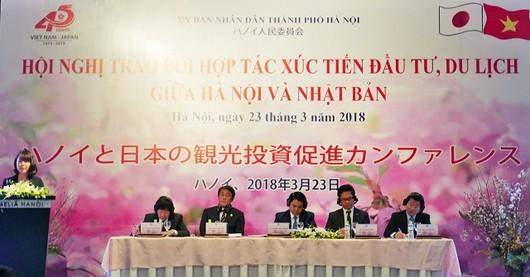 Hà Nội và Nhật Bản hợp tác xúc tiến đầu tư, du lịch