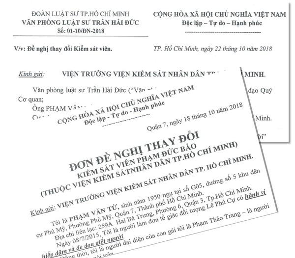 Vụ án hiếp dâm xảy ra ở quận 7: Gia đình bị hại đề nghị thay Kiểm sát viên