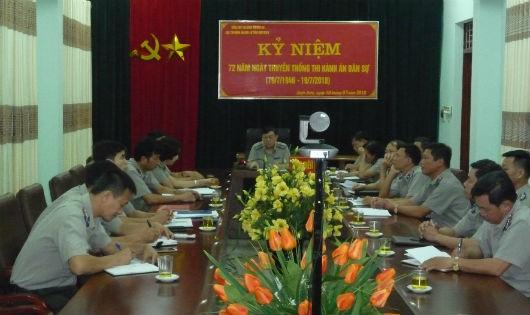 Cục THADS tỉnh Điện Biên nỗ lực thực hiện tốt công tác tổ chức, cán bộ