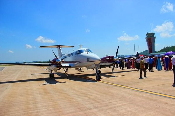 Bên trong sân bay quốc tế tư nhân đầu tiên tại Việt Nam