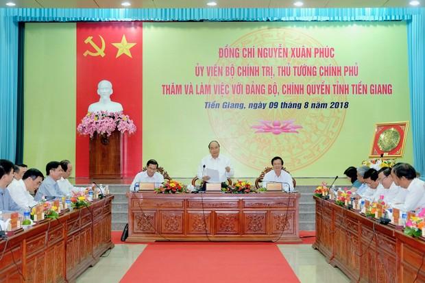 Thủ tướng đề nghị kinh tế Tiền Giang cần phát triển trên 5 trụ cột chính