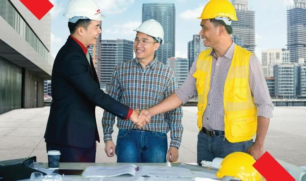 Techcombank hỗ trợ Doanh nghiệp cung cấp vật tư thiết bị cho các dự án BĐS dân dụng