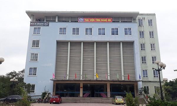 Thư viện tỉnh Nghệ An: Xuống cấp sau 6 năm sử dụng, vẫn... chưa quyết toán