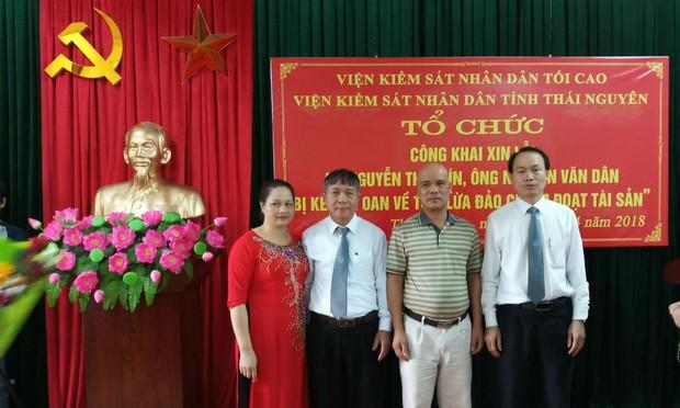VKSND tỉnh Thái Nguyên công khai xin lỗi người bị truy tố oan sai