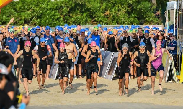 """Techcombank Ironman 70.3 Việt Nam 2018 - Nơi hội ngộ của những """"huyền thoại thể thao sức bền"""""""