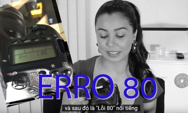 Đại diện Canon Việt Nam đã thừa nhận lỗi  chết nguồn Erro 70 - 80 trên dòng máy ảnh EOS 70D