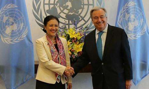 Tổng Thư ký LHQ đánh giá cao vai trò tích cực của Việt Nam tại các diễn đàn đa phương