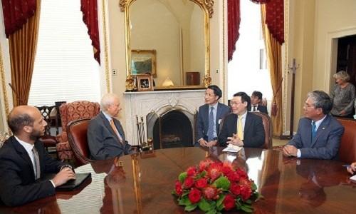 Tổng thống Mỹ muốn thúc đẩy quan hệ Đối tác toàn diện với Việt Nam phát triển hơn