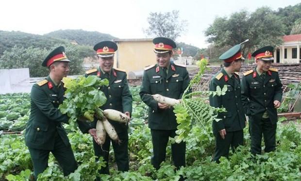 Mô hình giúp tiết kiệm cả chục tỷ đồng, nâng chất lượng bữa ăn bộ đội ở Quân khu 3