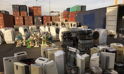 Tìm giải pháp cho hàng nghìn container phế liệu nhập khẩu?