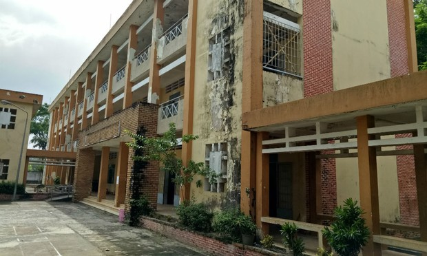 Học sinh nơm nớp lo trường THCS Phước Thái (Đồng Nai) đổ sập