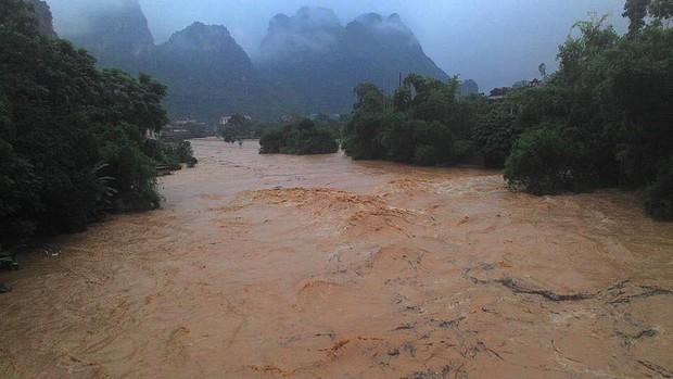 Lũ sông Thương có khả năng đạt đỉnh, cảnh báo nguy cơ cao sạt lở đất