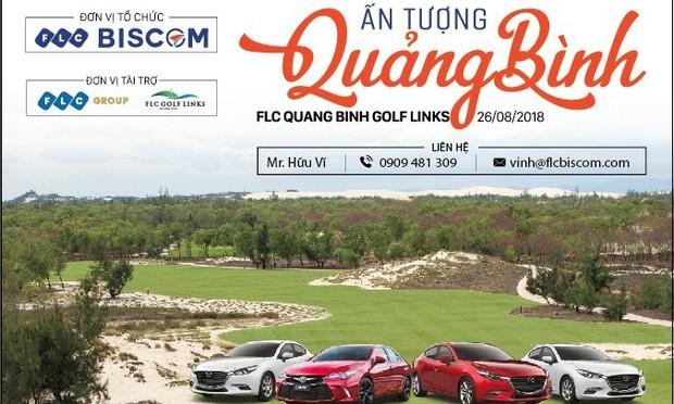 """""""Ấn tượng Quảng Bình""""  - Giải golf chào mừng Hội nghị xúc tiến đầu tư Quảng Bình 2018"""