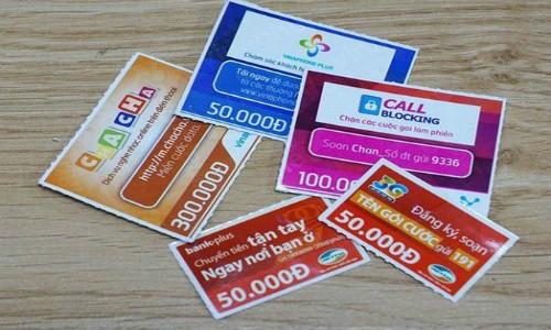 """Có dỡ bỏ """"lệnh giới nghiêm"""" cho thẻ cào trực tuyến?"""
