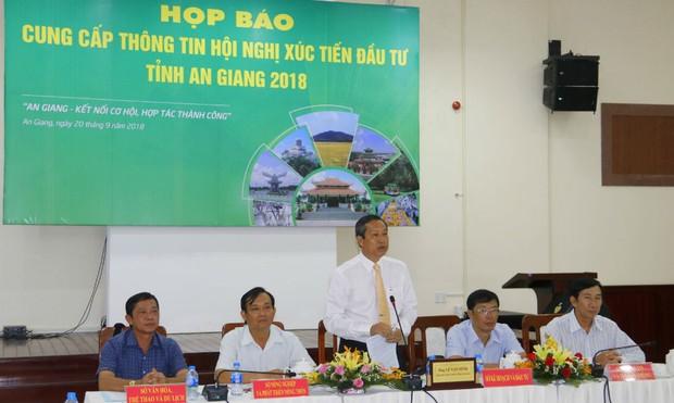 Doanh nghiệp cam kết và quyết định đầu tư hơn 128.000 tỷ đồng cho An Giang