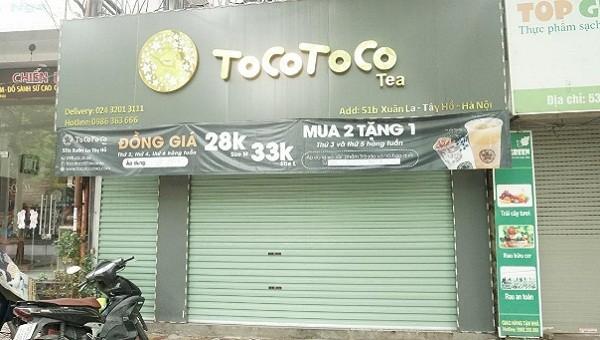 TocoToco làm rõ những lùm xùm xoay quanh cửa hàng 51B Xuân La