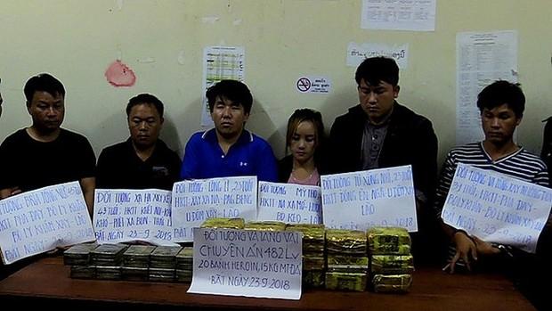 Liên tiếp triệt xóa nhiều vụ án ma túy xuyên quốc gia