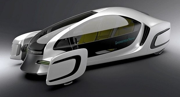 Nhật giới thiệu xe hơi 90% làm bằng nhựa
