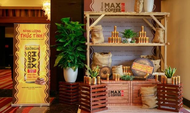 Georgia Coffee Max - Cà phê uống liền từ 100% nguồn cà phê Việt Nam