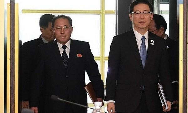 Hàn – Triều lần đầu họp Văn phòng Liên lạc