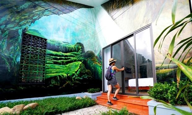 """Những homestay, bungalow """"độc lạ"""" bên rừng di sản Phong Nha"""
