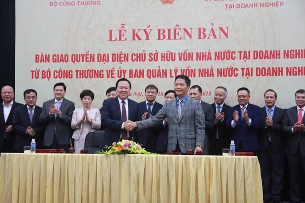 Bàn giao 6 tập đoàn, tổng công ty về Ủy ban Quản lý vốn nhà nước